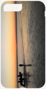 Paddle phone case