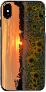 Sunflower Sunser phone case